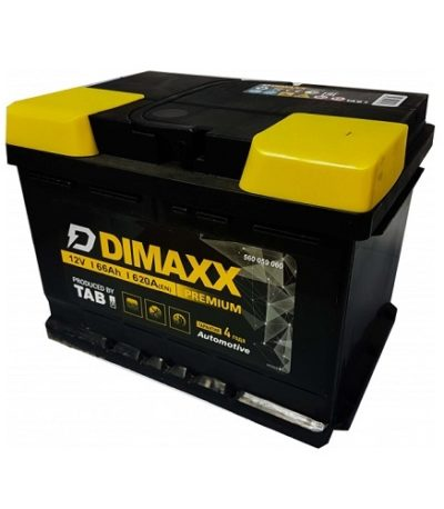 Аккумулятор DIMAXX  6СТ-  66 оп