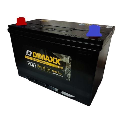 Аккумулятор DIMAXX  ASIA 6СТ-100 пп