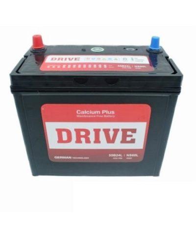 Аккумулятор Drive (55B24L) 45 (о.п)