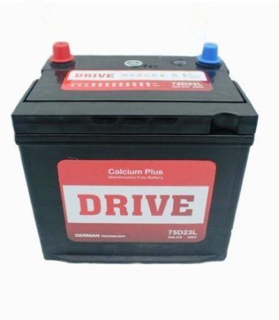Аккумулятор Drive (75D23L) 65 (о.п) ниж.креп.