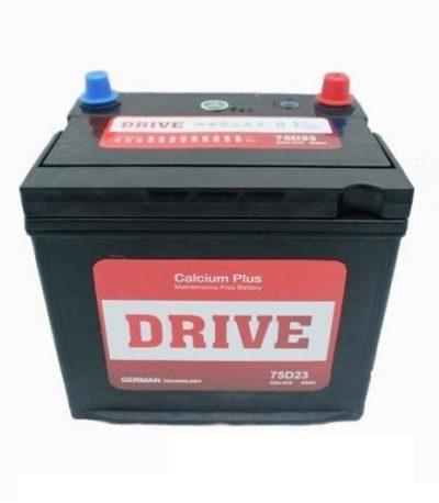 Аккумулятор Drive (75D23R) 65 (п.п) ниж.креп.