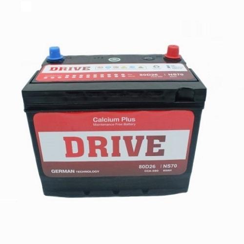 Аккумулятор Drive (80D26R) 70 (п.п) ниж.креп.