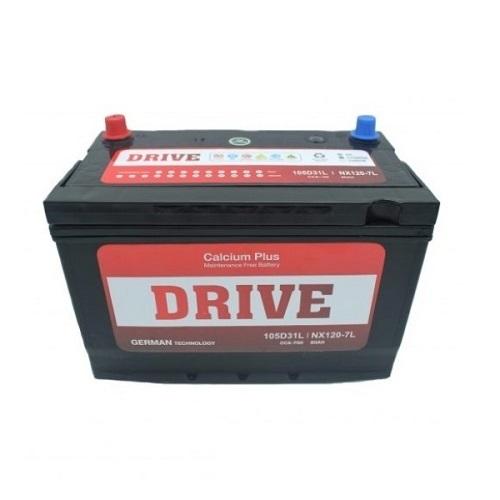 Аккумулятор Drive(105D31L) 90 (о.п) ниж.креп.