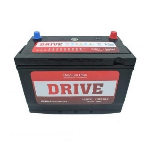 Аккумулятор Drive(105D31R) 90 (п.п) ниж.креп.