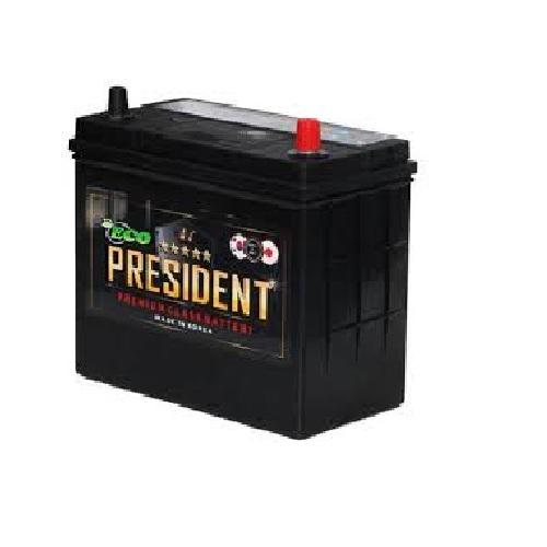 Аккумулятор ECO PRESIDENT 6СТ- 50 ач (60B24L) о.п.
