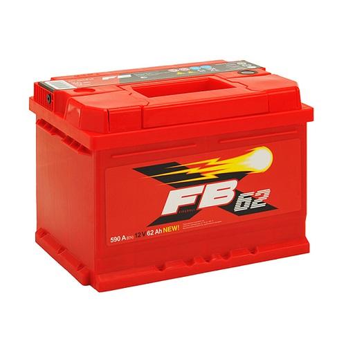 Аккумулятор FB 62 А/ч R низкий