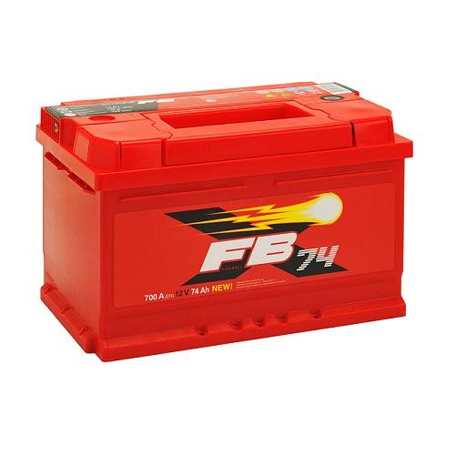 Аккумулятор FB 74 А/ч R низкий