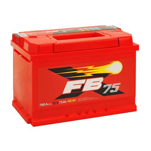 Аккумулятор FB 75 А/ч L
