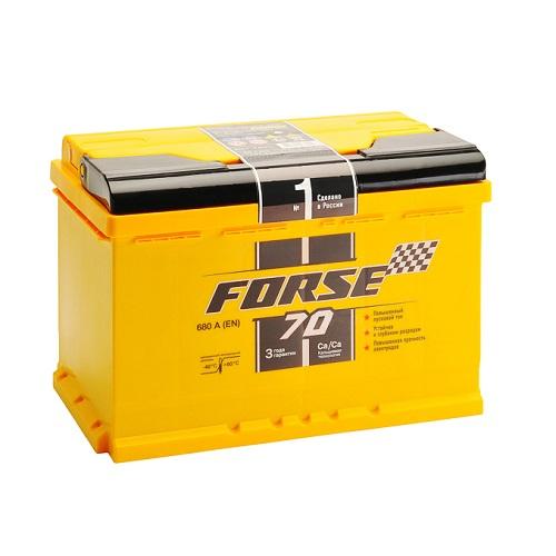 Аккумулятор FORSE 70 (1) L