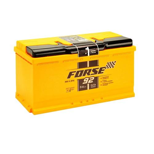 Аккумулятор FORSE 92 (1) L