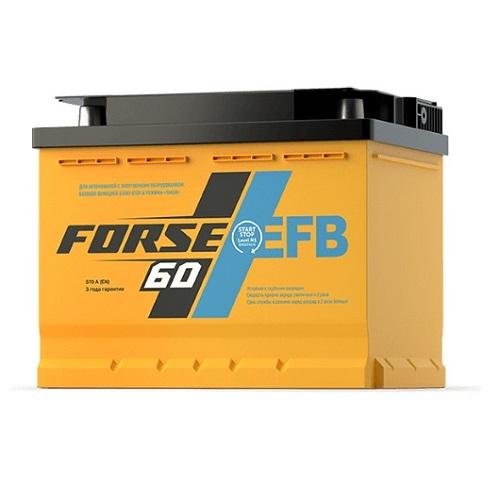 Аккумулятор FORSE EFB 60 (1) L