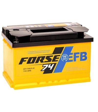Аккумулятор FORSE EFB 74 (0) R