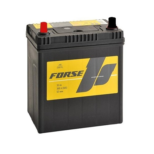 Аккумулятор FORSE (JIS) 35 VL (1) т.кл.