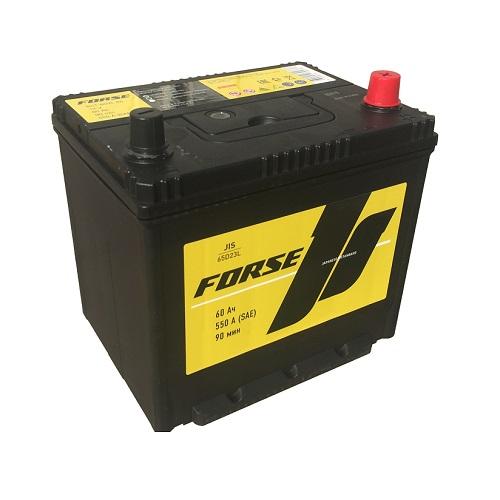 Аккумулятор FORSE (JIS) 60 VL (0) бортик