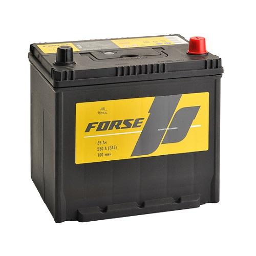 Аккумулятор FORSE (JIS) 65 VL (0) бортик
