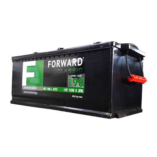 Аккумулятор FORWARD classic каз 6СТ-190 АПЗ (евро)