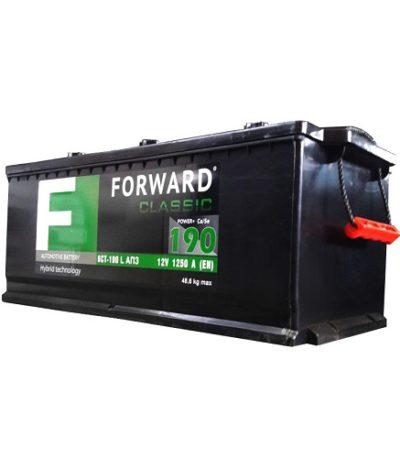 Аккумулятор FORWARD classic каз 6СТ-190 АПЗ рос.болт