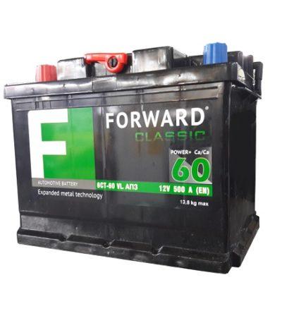 Аккумулятор FORWARD classic каз 6СТ-  60 VL АПЗ (п.п.)