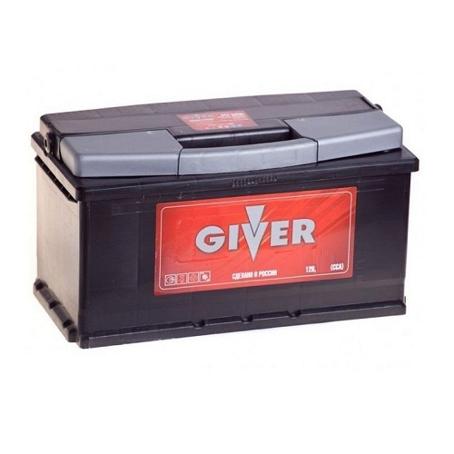 Аккумулятор GIVER 6CT -100 ач о.п.