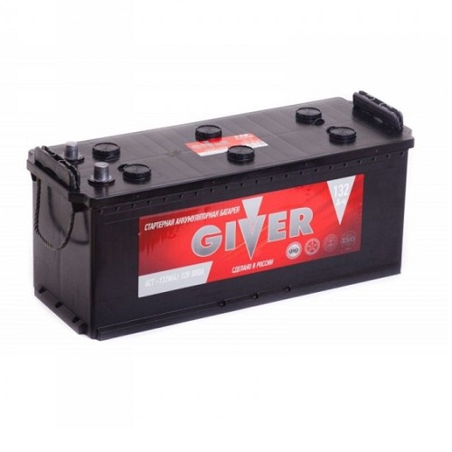 Аккумулятор GIVER 6CT - 132 ач