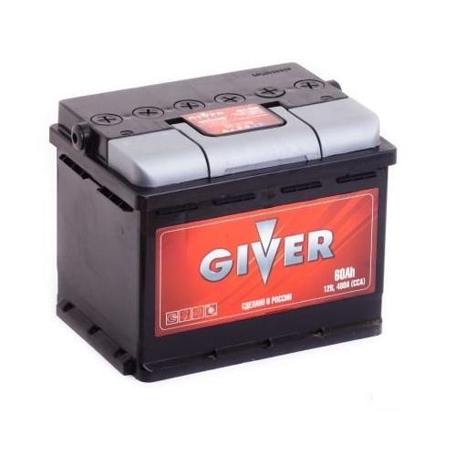 Аккумулятор GIVER 6СТ -60.0