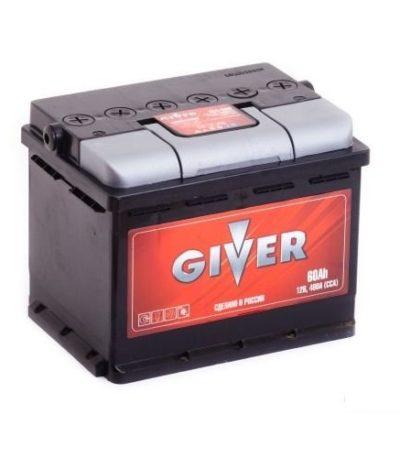 Аккумулятор GIVER 6СТ -60.1