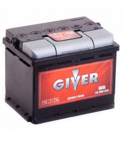 Аккумулятор GIVER 6СТ -66.1
