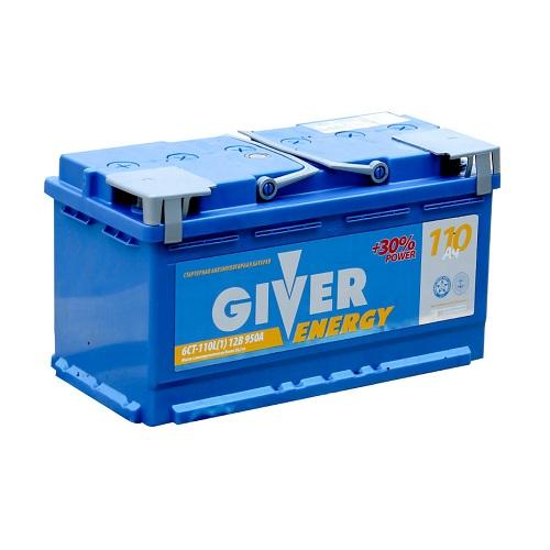 Аккумулятор GIVER ENERGY 6СТ -110.1