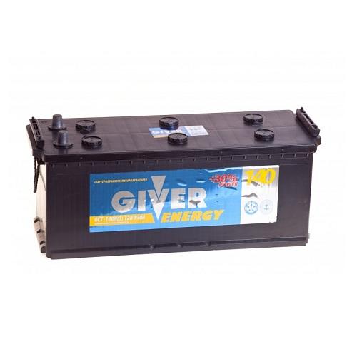 Аккумулятор GIVER ENERGY 6СТ - 140 ач евро