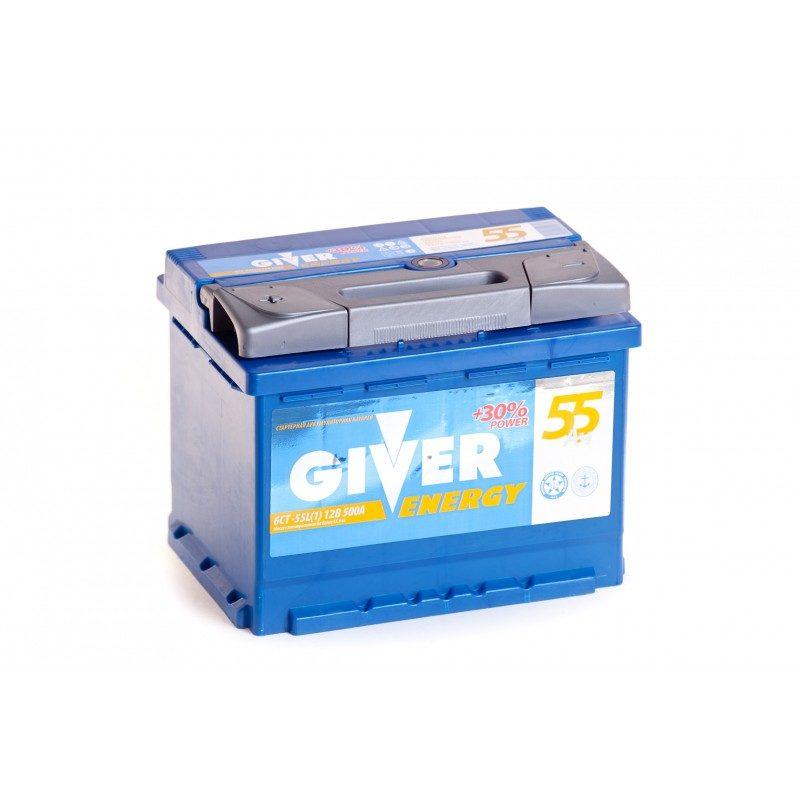 Аккумулятор GIVER ENERGY 6СТ -55.1