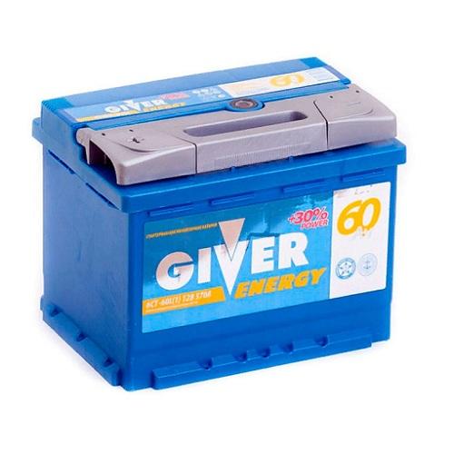 Аккумулятор GIVER ENERGY 6СТ -60.1