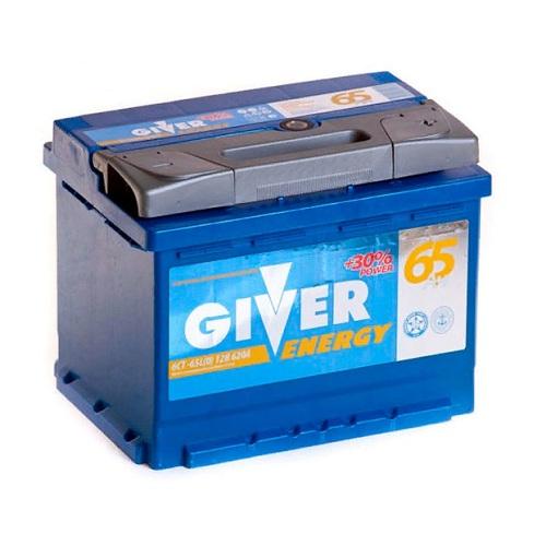 Аккумулятор GIVER ENERGY 6СТ -65.0