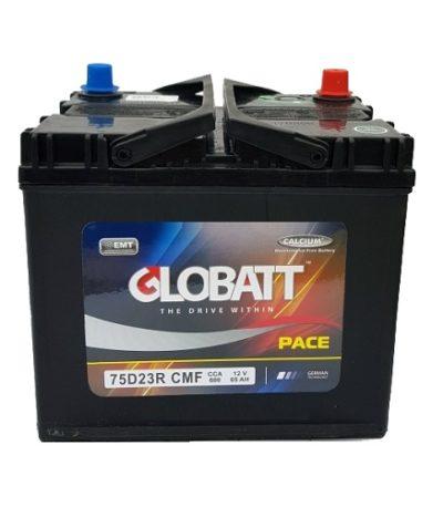 Аккумулятор Globatt (75D23R) 65 (п.п) ниж.креп.