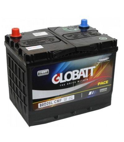 Аккумулятор Globatt (80D26L) 70 (о.п) ниж.креп.