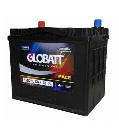 Аккумулятор Globatt (85D23L) 80 (о.п) ниж.креп.
