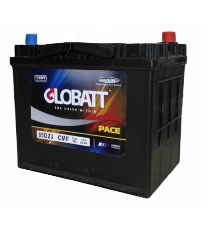 Аккумулятор Globatt (85D23R) 80 (п.п) ниж.креп.