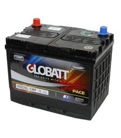 Аккумулятор Globatt (90D26L) 85 (о.п) ниж.креп.