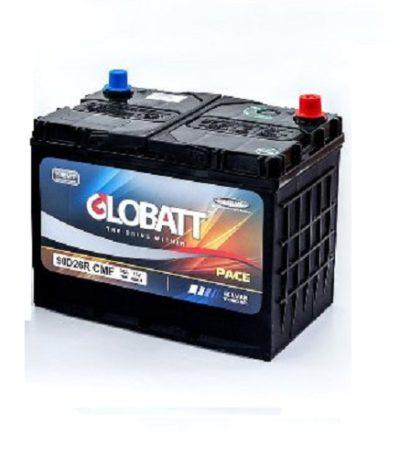 Аккумулятор Globatt (90D26R) 85 (п.п) ниж.креп.