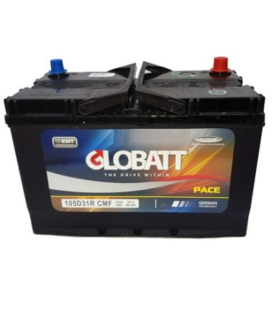 Аккумулятор Globatt(105D31R) 90 (п.п) ниж.креп.