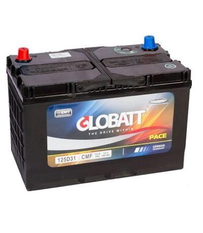Аккумулятор Globatt(125D31L) 100 (о.п) ниж.креп.