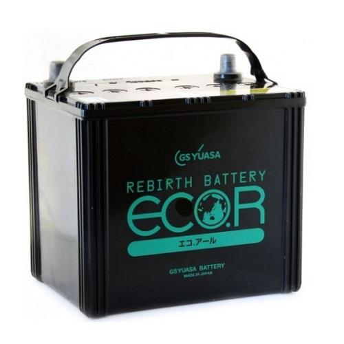 Аккумулятор GS YUASA ECO.R ECT (80D23L) 65 (о.п.)