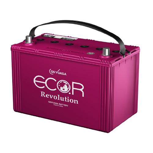 Аккумулятор GS YUASA ECO.R Revolution ER (130D31L) (T-115) 90 (о.п.) Start-Stop EFB