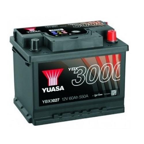 Аккумулятор GS YUASA YBX3027SMF  Batteries 60 (о.п.)