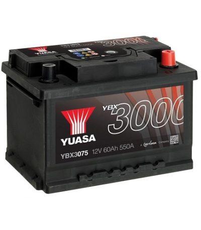 Аккумулятор GS YUASA YBX3075SMF  Batteries 60 (о.п.)