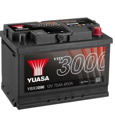 Аккумулятор GS YUASA YBX3096SMF  Batteries 75 (о.п.)