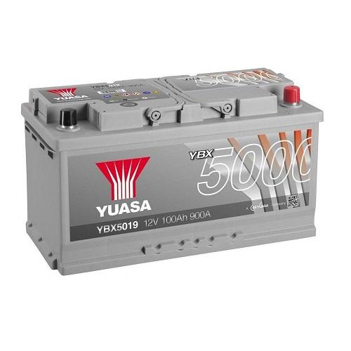 Аккумулятор GS YUASA YBX5019SMF Silver High Performance 100 (о.п.)