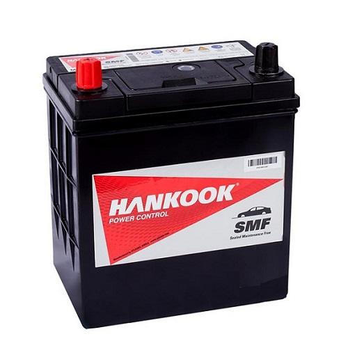 Аккумулятор HANKOOK 6СТ-40 ач п.п. тонк.кл./бортик. (44B19FR)