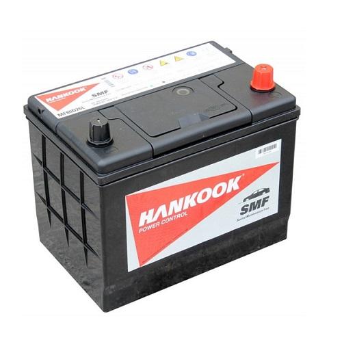 Аккумулятор HANKOOK 6СТ- 70 ач о.п. (80D26L)