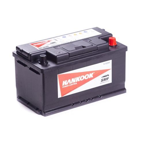 Аккумулятор HANKOOK 6СТ-80 R+  низкий