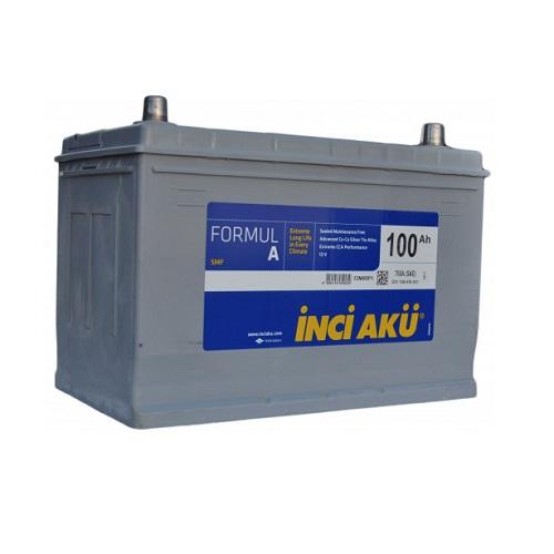 Аккумулятор Inci Aku ASIA FormulА 6СТ - 100 (о.п.) (115D31L) ниж.креп.